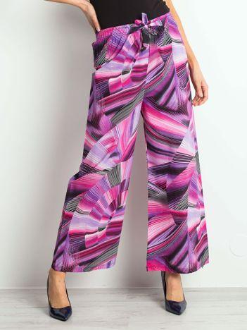 Fioletowo-różowe spodnie Seeking