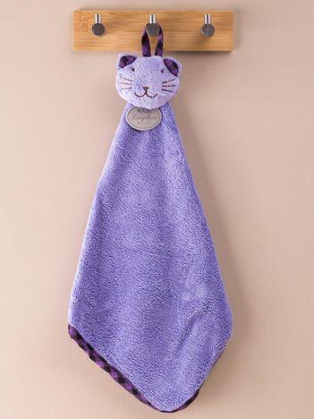 Fioletowy ręcznik do rąk