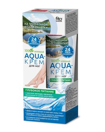 Fitocosmetics Aqua-krem do stóp Głębokie odżywianie 45 ml