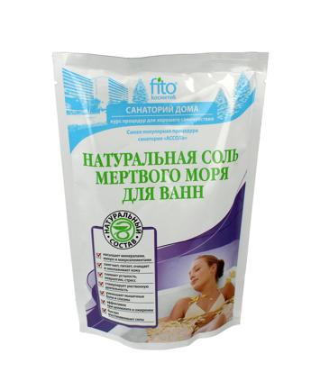 Fitocosmetics Sól do kąpieli naturalna z Morza Martwego 530 g