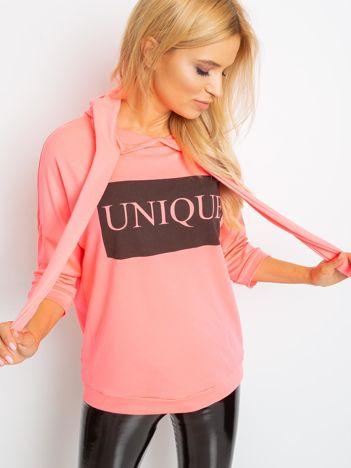 Fluo różowa bluza Unique