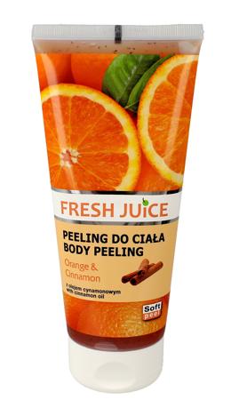 "Fresh Juice Peeling do ciała Orange & Cinnamon  200ml"""
