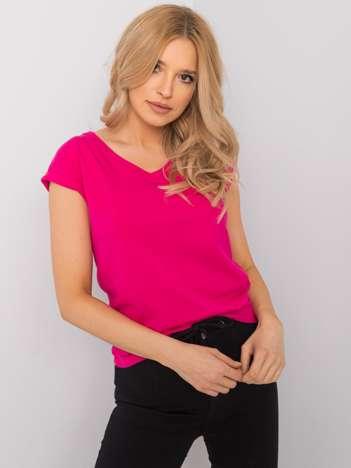 Fuksjowy t-shirt Elisabetta