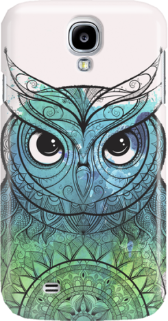 Funny Case ETUI SAMSUNG S4 OWL