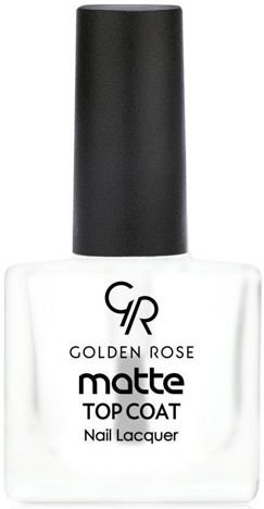 GOLDEN ROSE Matte Top Coat Matowy utwardzacz 10,5 ml