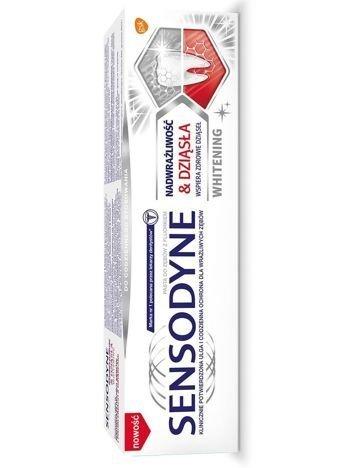 GSK Sensodyne Pasta do zębów Nadwrażliwość & Dziąsła Whitening 75 ml