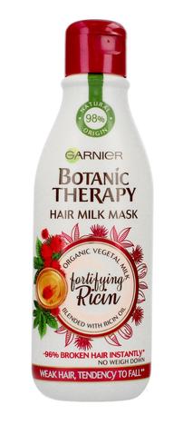 """Garnier Botanic Therapy Hair Milk Maska do włosów osłabionych Fortifying Ricin 250ml"""""""