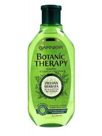 Garnier Botanic Therapy Szampon do włosów normalnych i przetłuszczających Zielona Herbata  400 ml