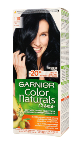 """Garnier Color Naturals Krem koloryzujący nr 1.10 Granatowa Czerń 1op"""""""
