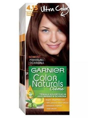 Garnier Color Naturals Krem koloryzujący nr 4.15 Mroźny Kasztan