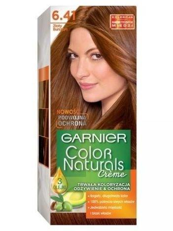 Garnier Color Naturals Krem koloryzujący nr 6.41 Złoty Bursztyn