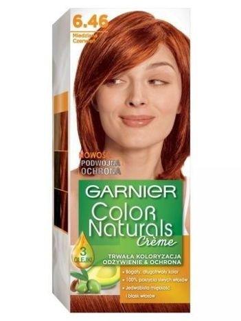 Garnier Color Naturals Krem koloryzujący nr 6.46 Miedziana Czerwień