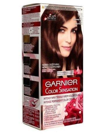 Garnier Color Sensation Krem koloryzujący do włosów 6.15 Jasny Rubinowy Brąz