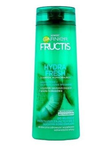 Garnier Fructis Szampon wzmacniający do włosów przetłuszczających się z suchymi końcówkami Hydra Fresh  400 ml
