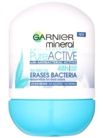 Garnier Mineral Antyperspirant roll-on Pure Active  50 ml