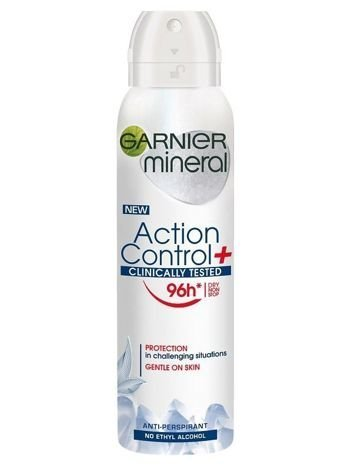 Garnier Mineral Antyperspirant w sprayu Action Control+ Clinically 96h 150 ml