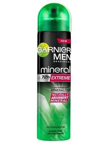 Garnier Mineral Men Antyperspirant w sprayu dla mężczyzn Extreme  150 ml