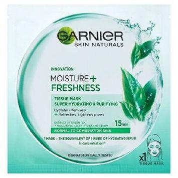 Garnier Skin Naturals Moisture+ Maska-kompres nawilżająco-oczyszczająca w płachcie Freshness 32 g