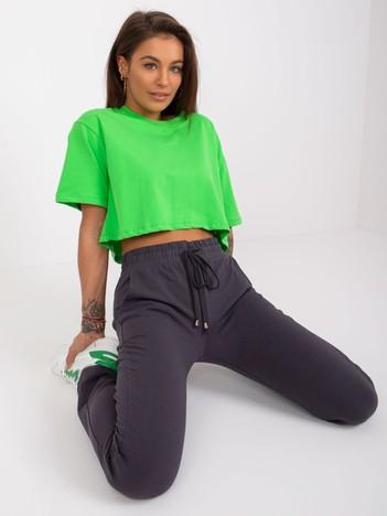 Grafitowe spodnie Faster
