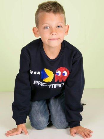 Granatowa bluza dla chłopca