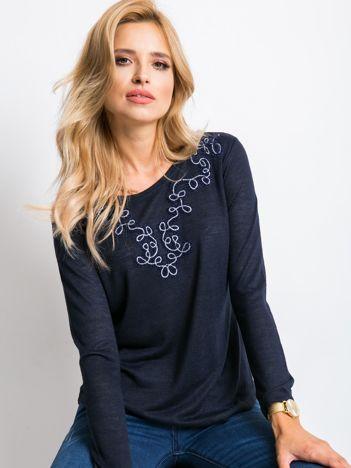 Granatowa bluzka Joan