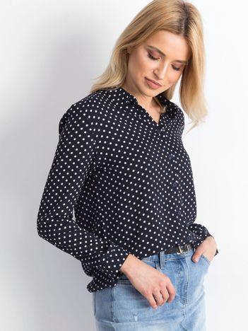 Granatowa koszula Frankly