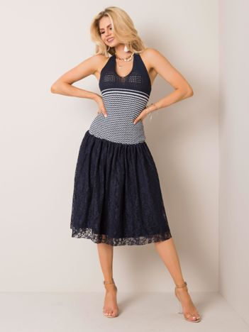 Granatowa sukienka Gwyneth RUE PARIS