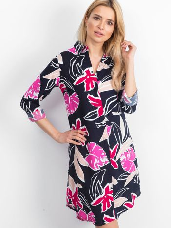 Granatowa sukienka Memorable