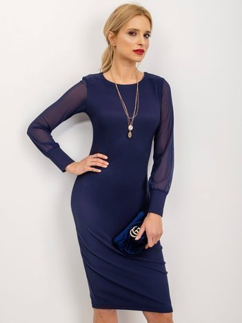 Granatowa sukienka Sulley