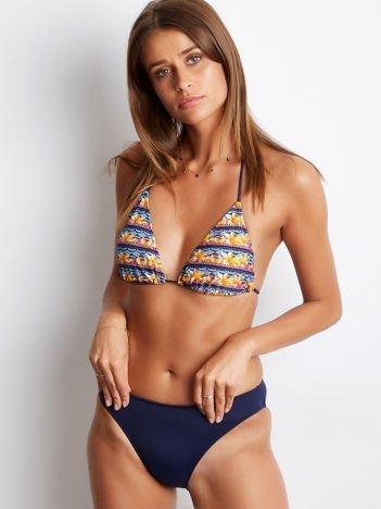 Granatowe bikini Modern