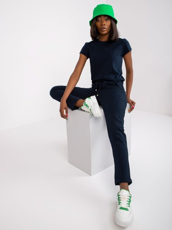 Granatowe spodnie Startup