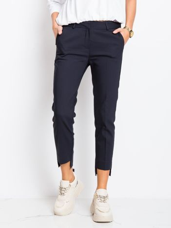 Granatowe spodnie This