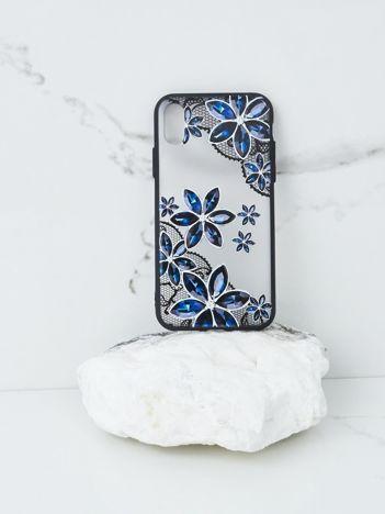 Granatowo-czarne etui do iPhone X