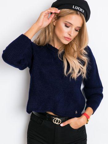 Granatowy sweter Bounty