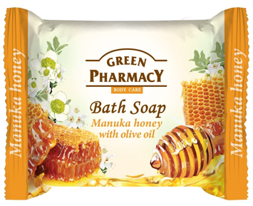 Green Pharmacy Body Care Mydło w kostce Manuka Honey 100 g
