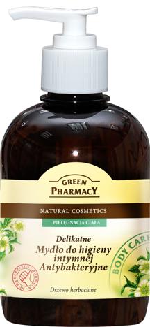 Green Pharmacy Mydło do higieny intymnej antybakteryjne Drzewo herbaciane 370 ml