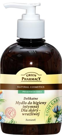 Green Pharmacy Mydło do higieny intymnej dla skóry wrażliwej Rumianek 370 ml
