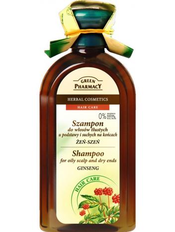 Green Pharmacy Szampon do włosów mieszanych Żeń-Szeń 350 ml