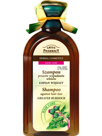 Green Pharmacy Szampon do włosów wypadających Łopian 350 ml