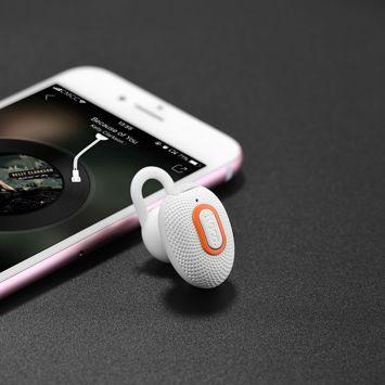 HOCO E28 Słuchawka bluetooth 4.1 z mikrofonem biała