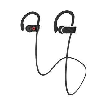 HOCO ES7 Bezprzewodowe sportowe słuchawki bluetooth odporne na wstrząsy i pot 6h odtwarzania muzyki Kolor czarny