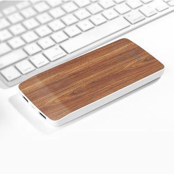 HOCO J5 Powerbank Podwójne wyjście Micro-USB 8000 mAh Dual USB 2.1A dioda LED