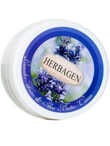 Herbagen Krem z wodą lawendową i masłem shea naturalny 150 ml