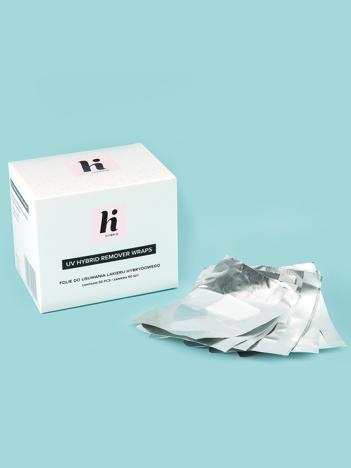 Hi Hybrid Folie do usuwania lakieru hybrydowego 50 szt.