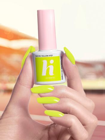 Hi Hybrid Lakier hybrydowy nr 121 Neon Yellow 5 ml