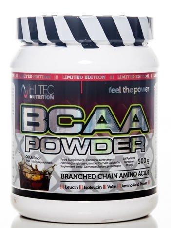HiTec - Aminokwasy BCAA Powder - 500g cola