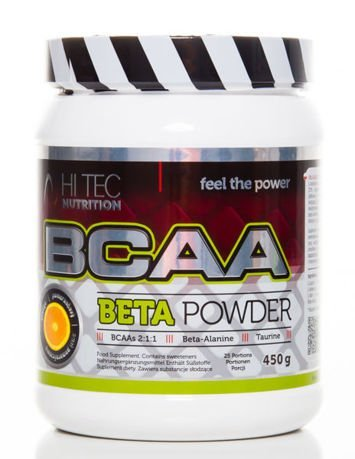 HiTec - BCAA Beta Powder - 450g orange