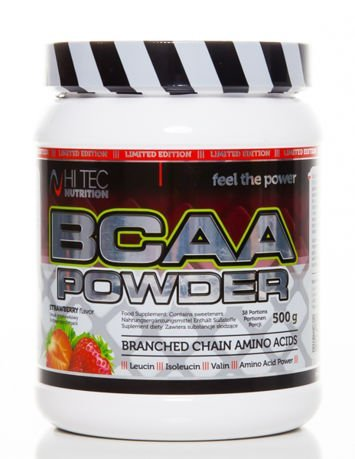 HiTec - BCAA Powder - 500g strawberry