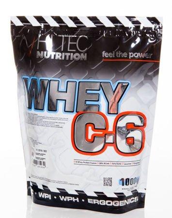 HiTec - Odżywka białkowa C6 - 1000g Chocolate