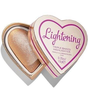 I HEART REVOLUTION Wypiekany rozświetlacz Glow Hearts Luminous Lightening